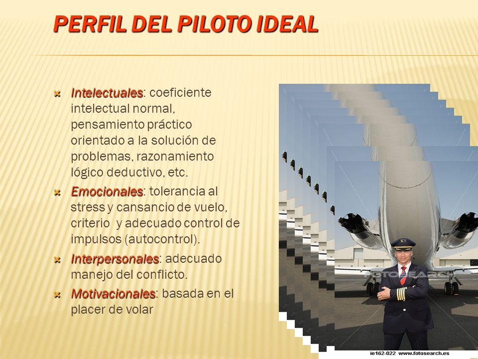 Perfil del Piloto Ideal