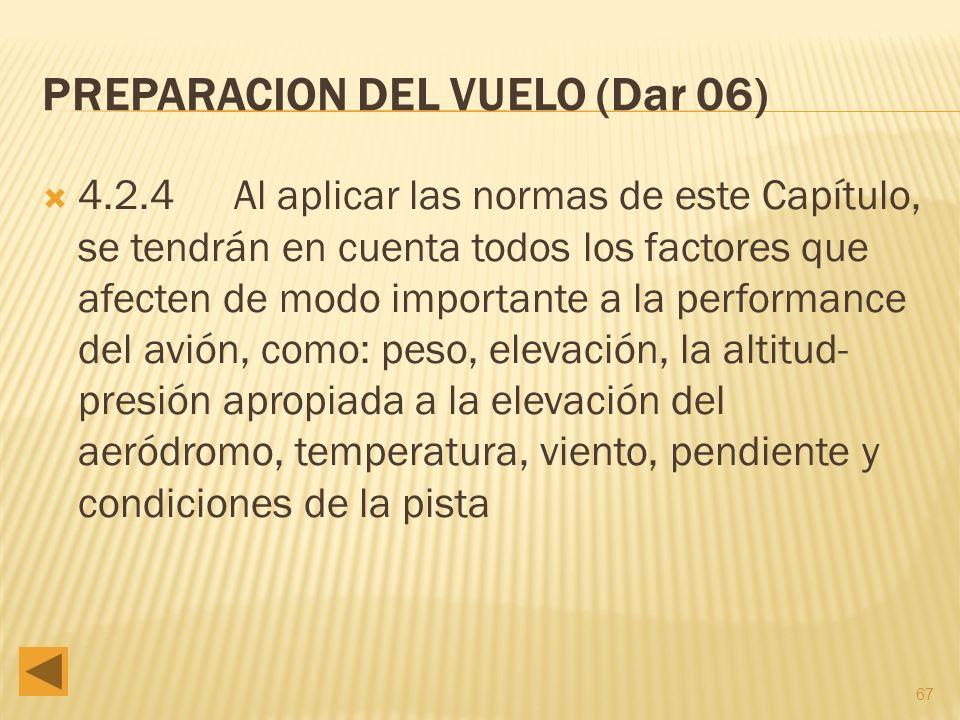 PREPARACION DEL VUELO (Dar 06)