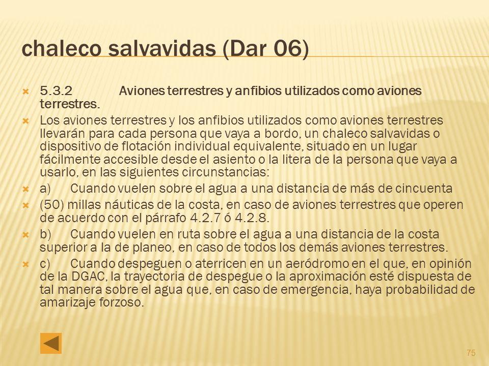 chaleco salvavidas (Dar 06)