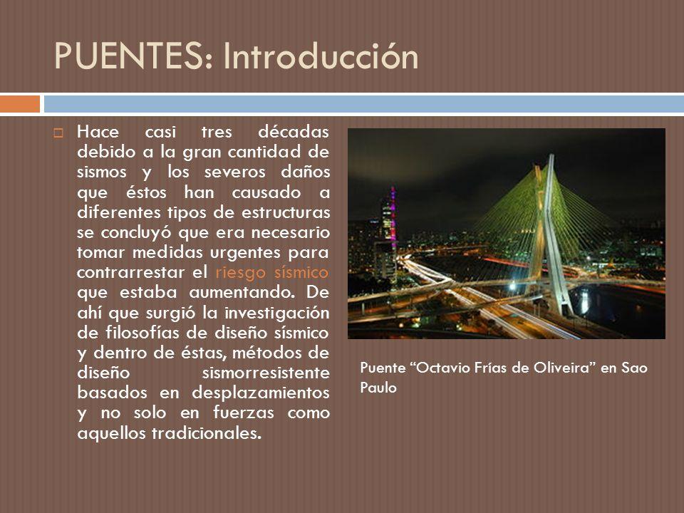 PUENTES: Introducción