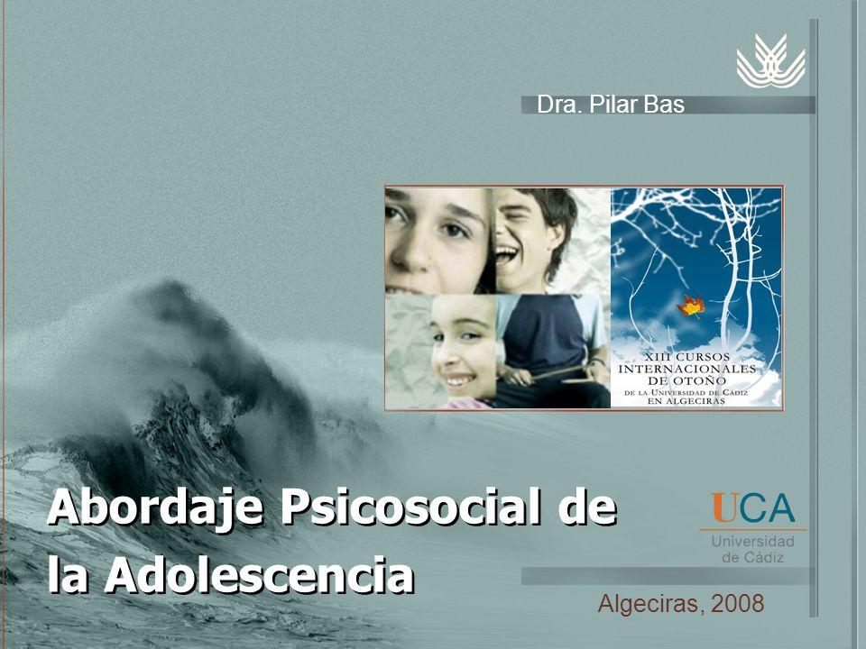 Abordaje Psicosocial de la Adolescencia