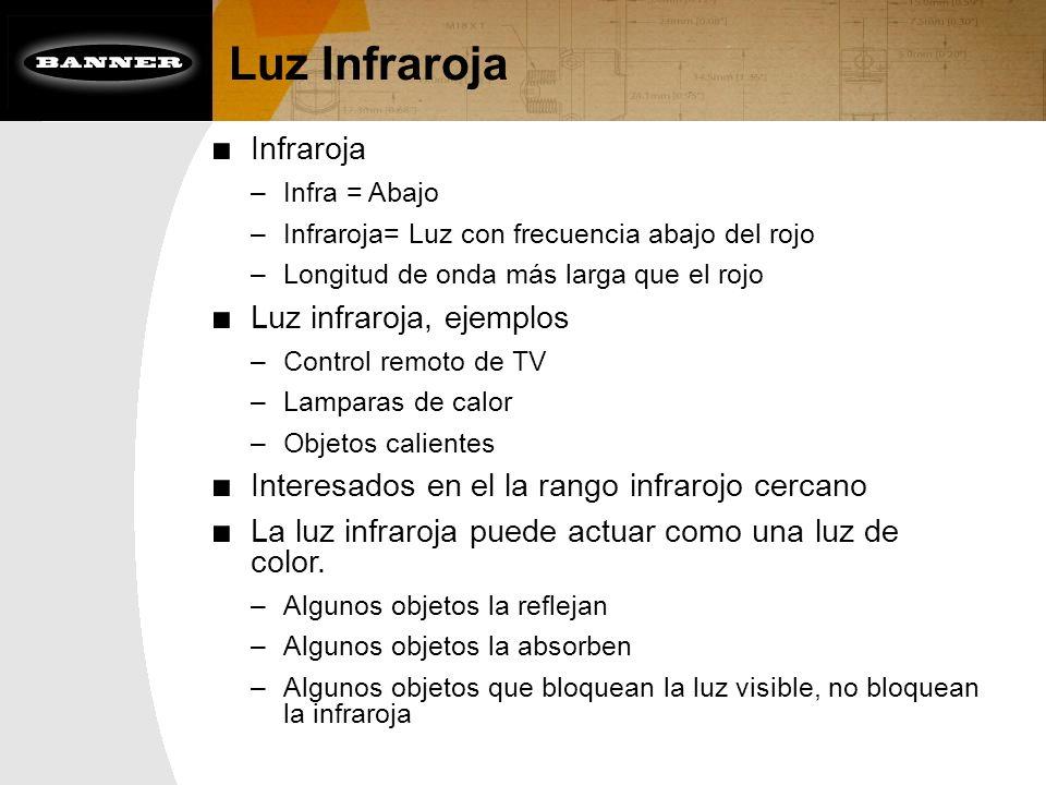 Luz Infraroja Infraroja Luz infraroja, ejemplos