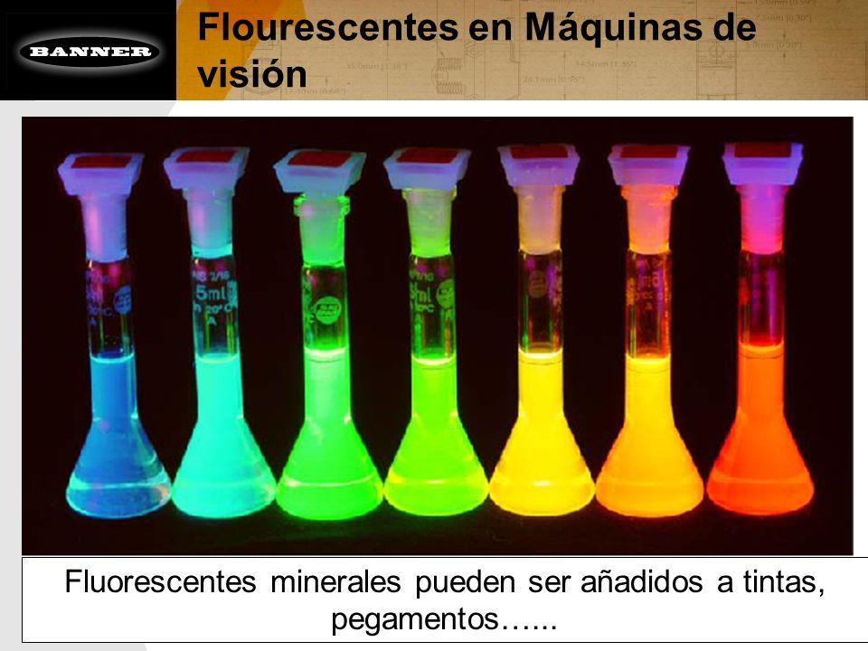 Flourescentes en Máquinas de visión