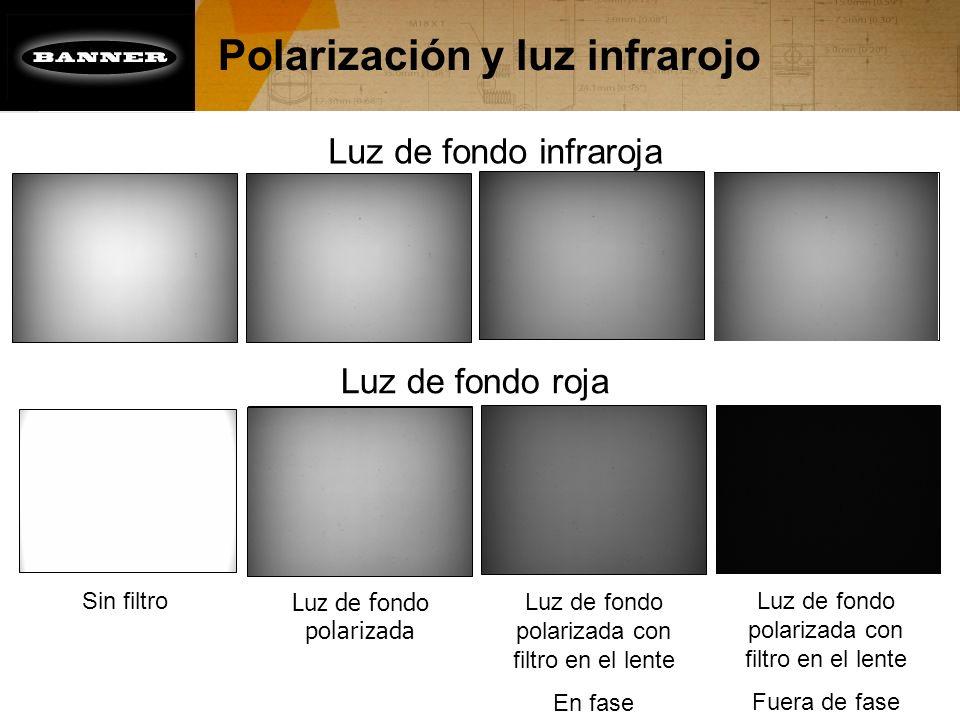 Polarización y luz infrarojo