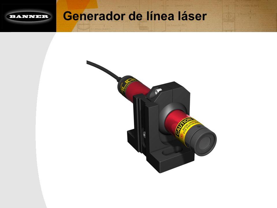 Generador de línea láser
