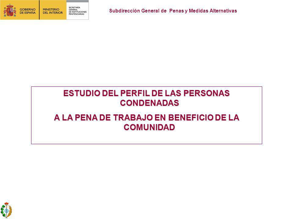 ESTUDIO DEL PERFIL DE LAS PERSONAS CONDENADAS