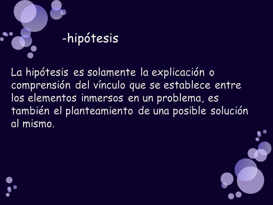 -hipótesis