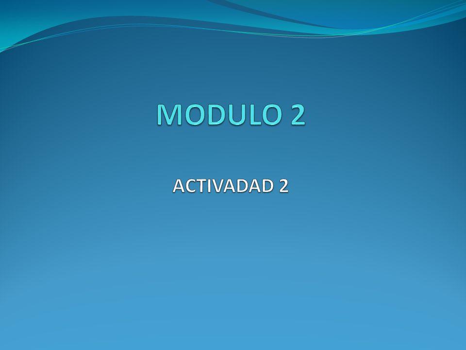 MODULO 2 ACTIVADAD 2