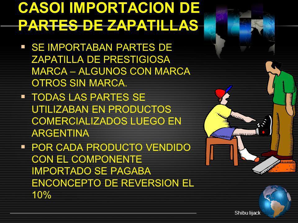 CASOI IMPORTACION DE PARTES DE ZAPATILLAS