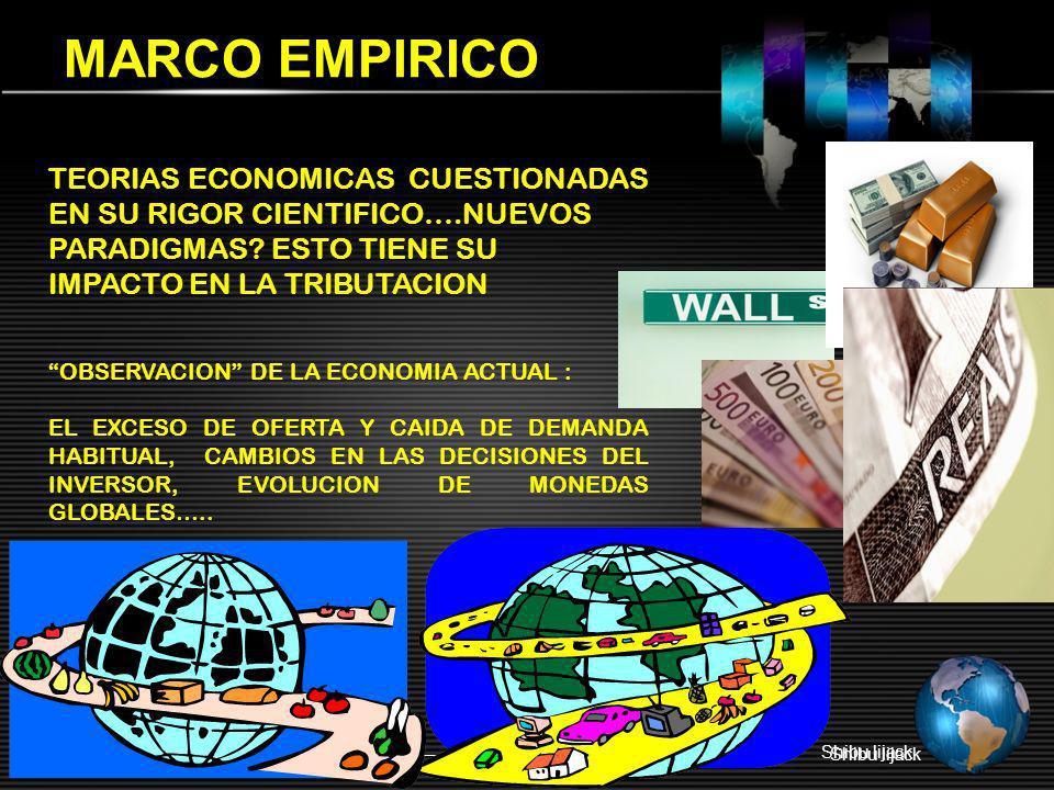 MARCO EMPIRICO TEORIAS ECONOMICAS CUESTIONADAS EN SU RIGOR CIENTIFICO….NUEVOS PARADIGMAS ESTO TIENE SU.