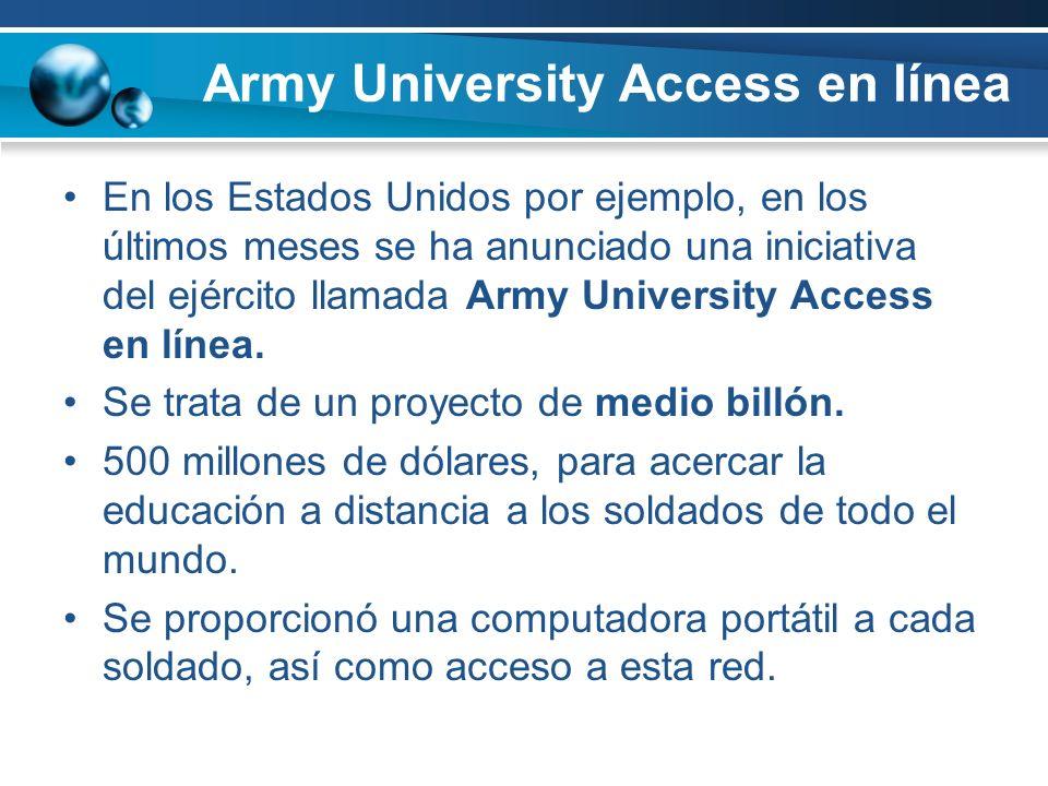 Army University Access en línea