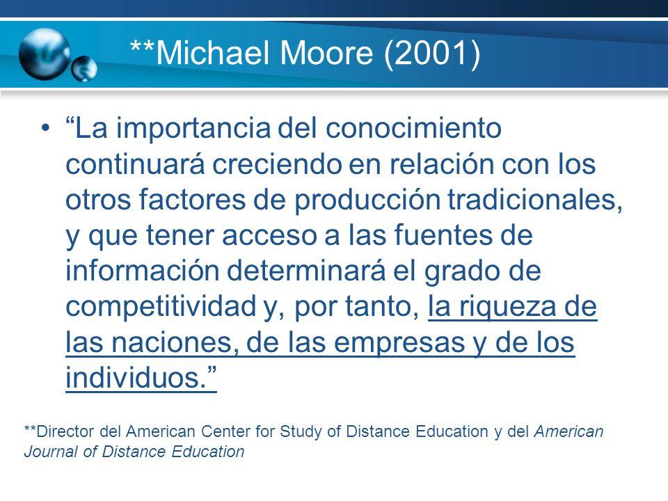 **Michael Moore (2001)
