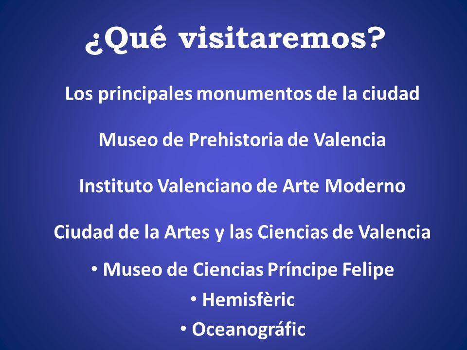 ¿Qué visitaremos Los principales monumentos de la ciudad