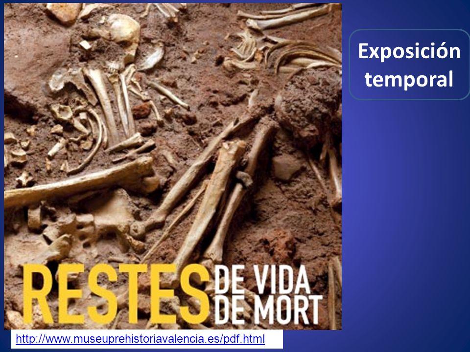 Exposición temporal http://www.museuprehistoriavalencia.es/pdf.html