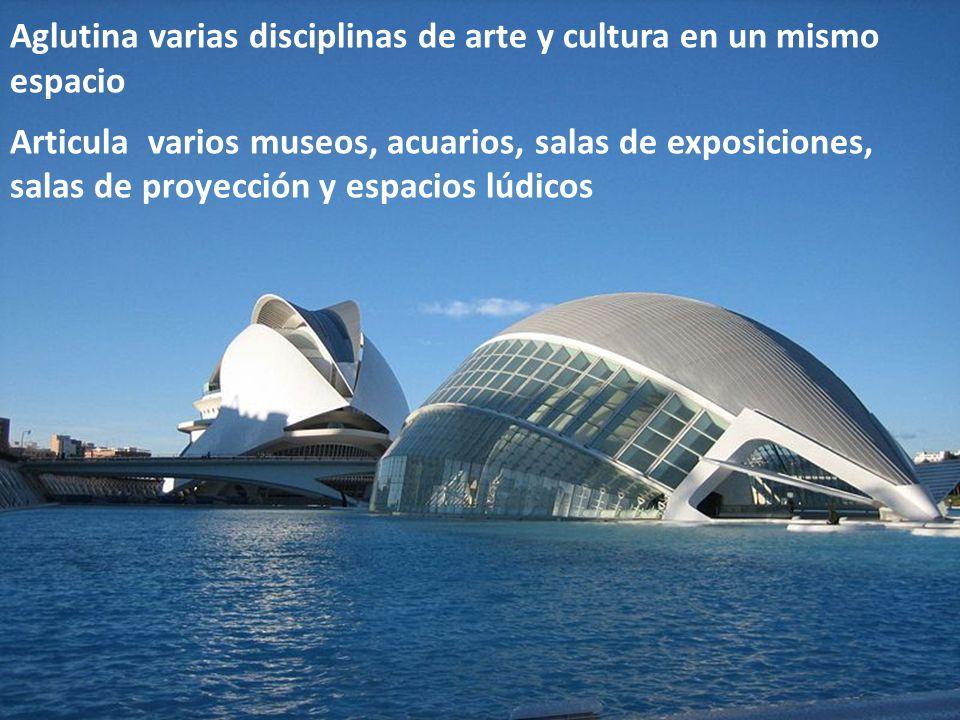 Aglutina varias disciplinas de arte y cultura en un mismo espacio