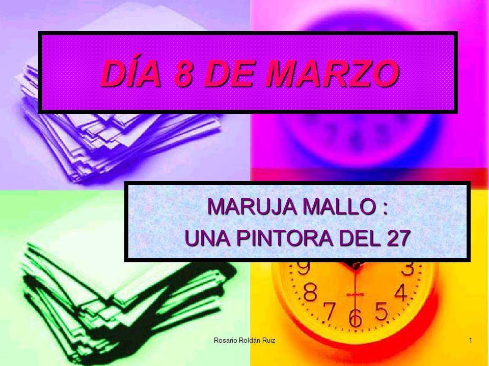 MARUJA MALLO : UNA PINTORA DEL 27