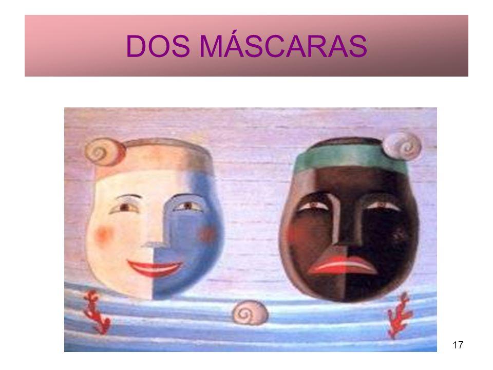 DOS MÁSCARAS Rosario Roldán Ruiz