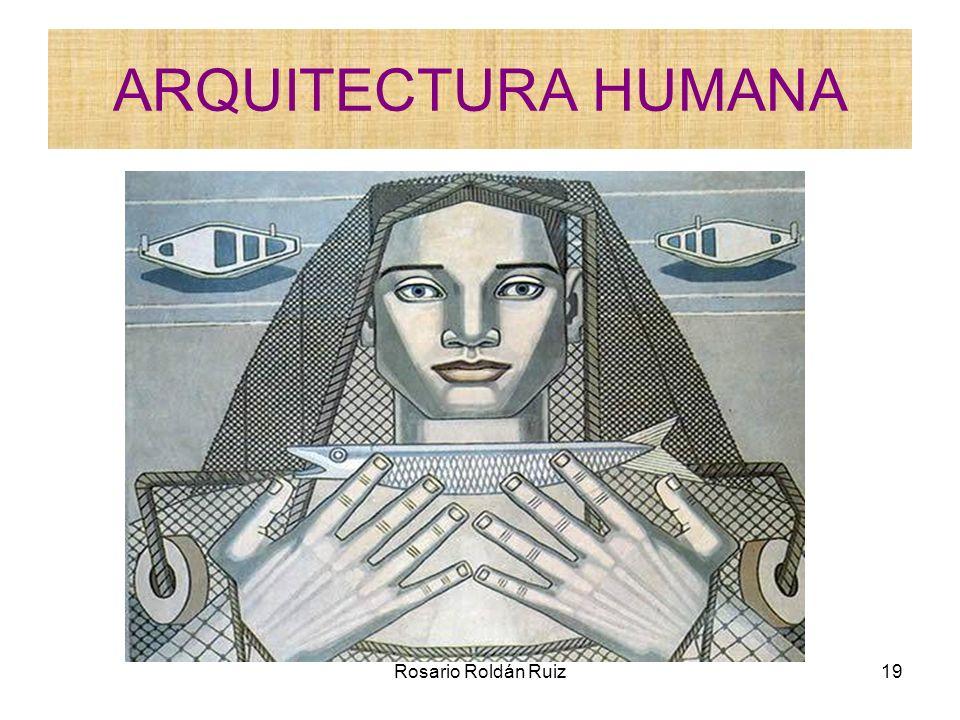 ARQUITECTURA HUMANA Rosario Roldán Ruiz