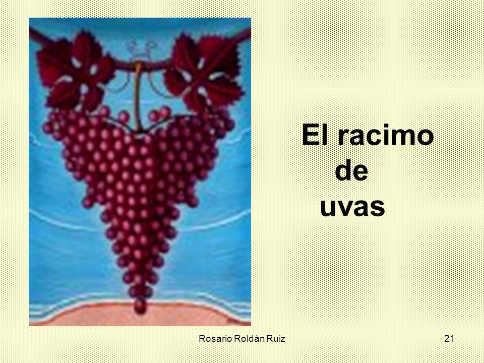 El racimo de uvas Rosario Roldán Ruiz