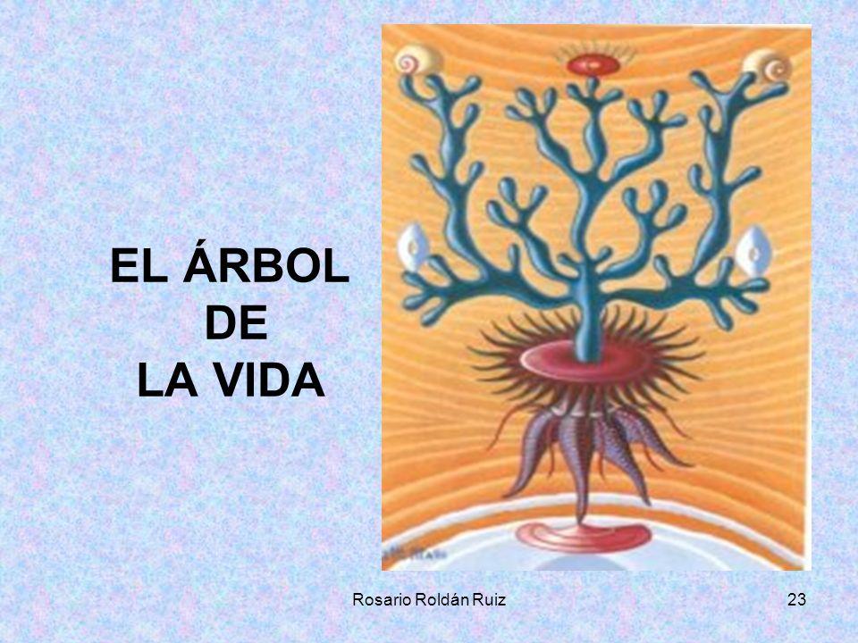 EL ÁRBOL DE LA VIDA Rosario Roldán Ruiz