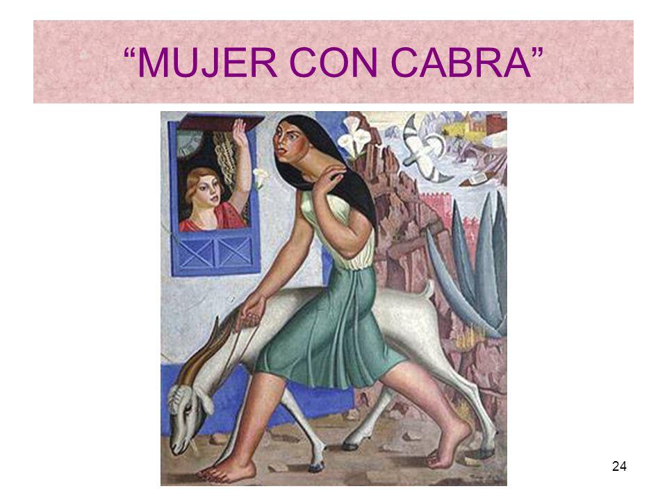 MUJER CON CABRA Rosario Roldán Ruiz