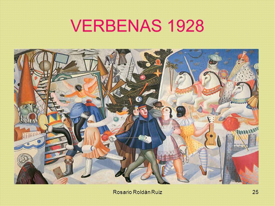 VERBENAS 1928 Rosario Roldán Ruiz