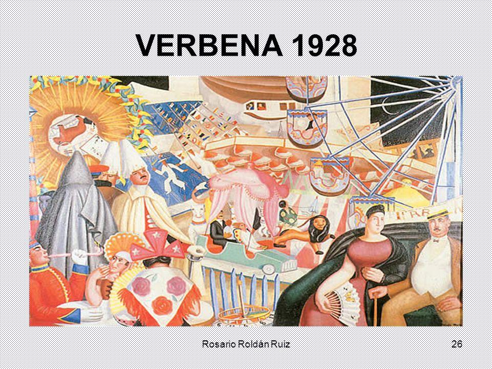 VERBENA 1928 Rosario Roldán Ruiz
