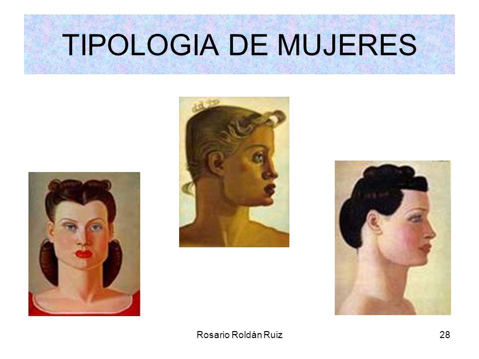 TIPOLOGIA DE MUJERES Rosario Roldán Ruiz