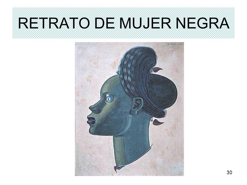 RETRATO DE MUJER NEGRA Rosario Roldán Ruiz