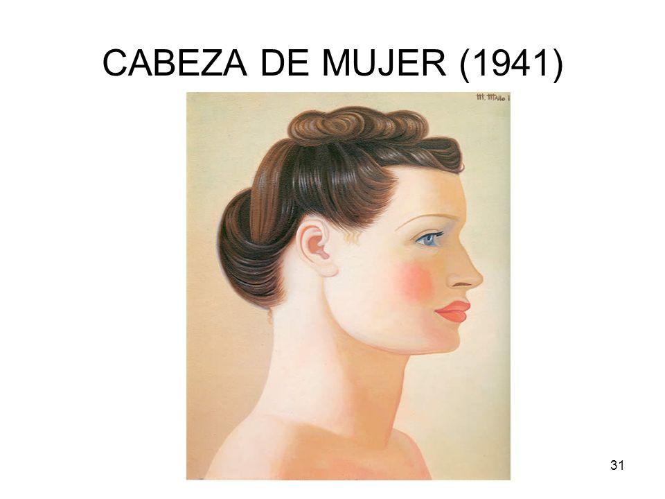 CABEZA DE MUJER (1941) Rosario Roldán Ruiz
