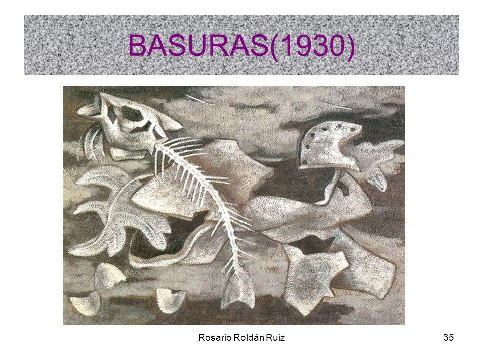 BASURAS(1930) Rosario Roldán Ruiz