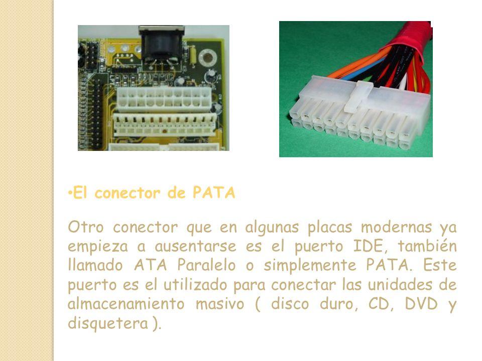 El conector de PATA