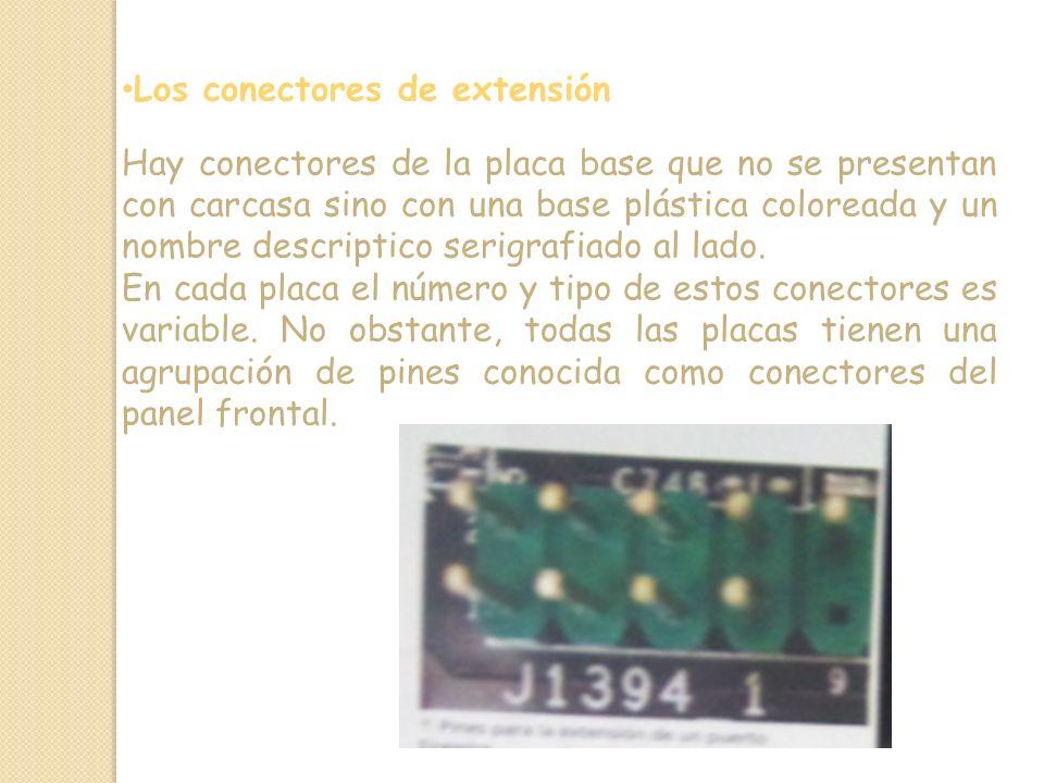 Los conectores de extensión