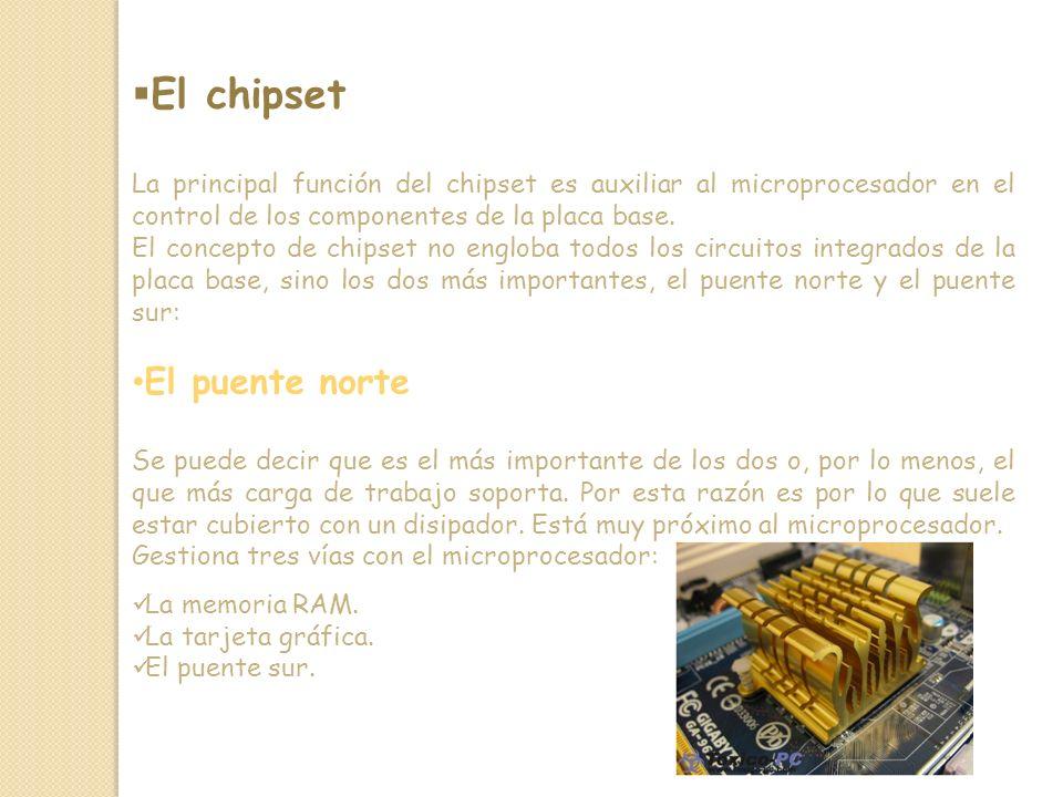 El chipset El puente norte