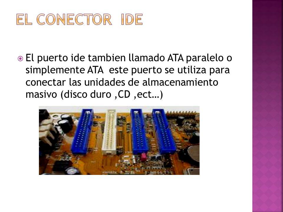 El conector Ide