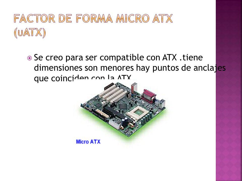 Factor de forma micro atx (uatx)