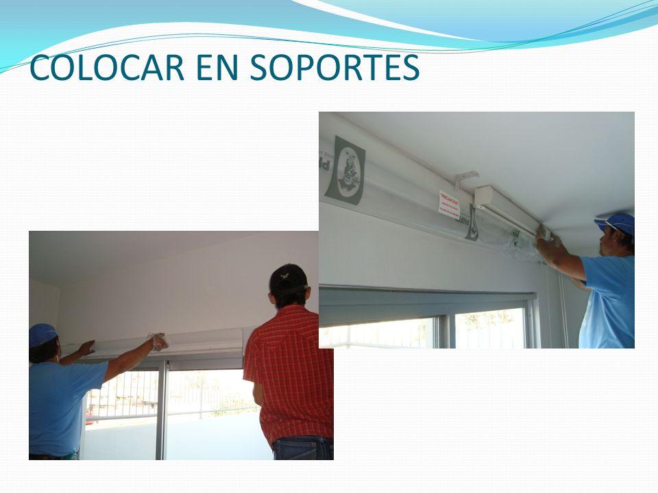 COLOCAR EN SOPORTES
