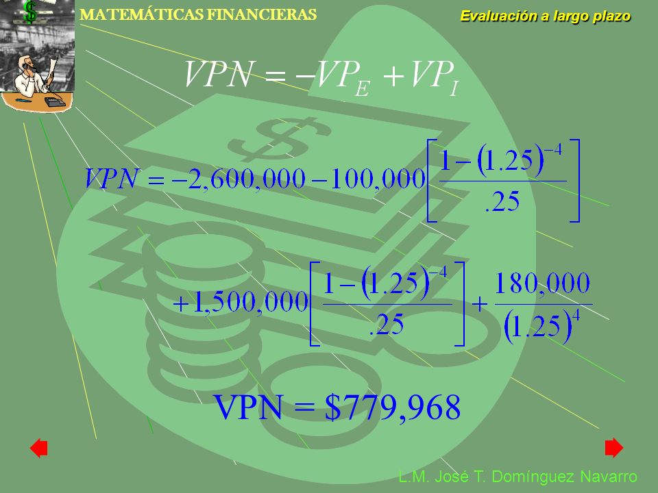 VPN = $779,968