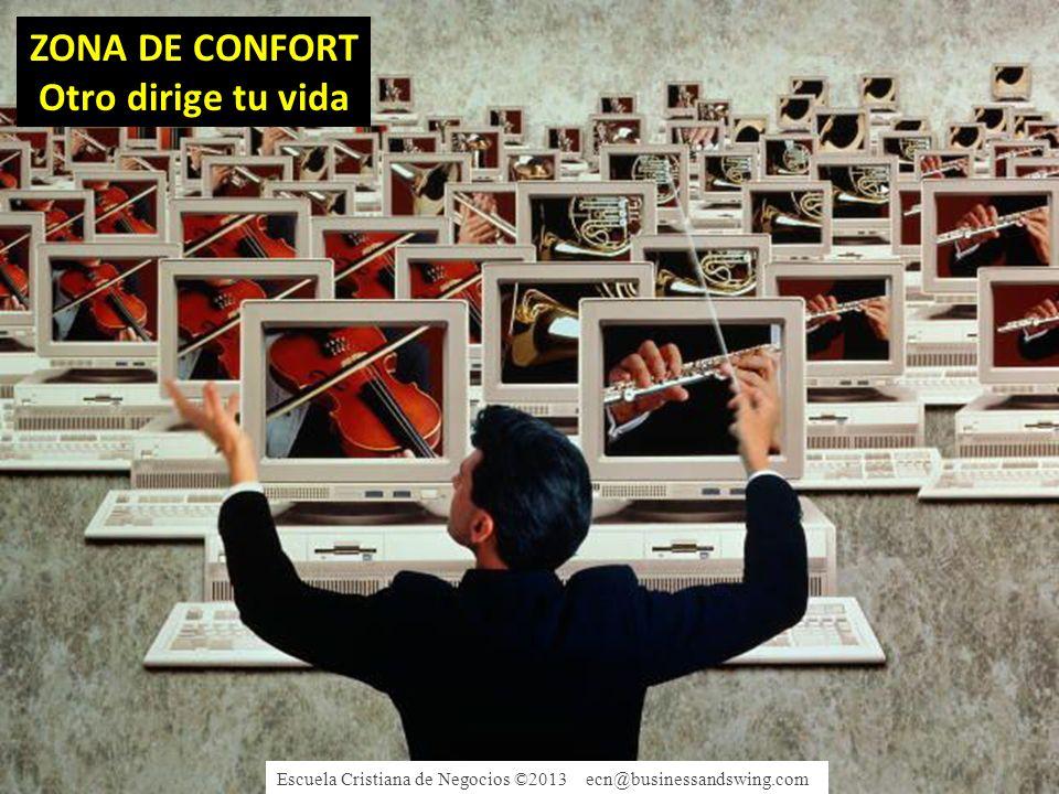 ZONA DE CONFORT Otro dirige tu vida