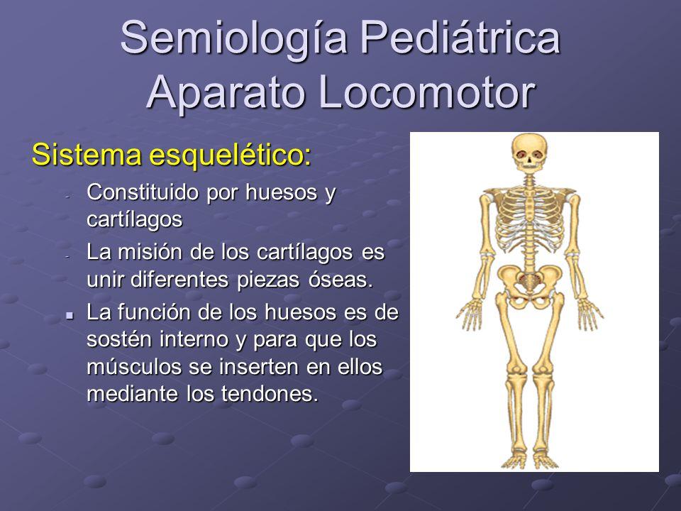 Semiología Pediátrica Aparato Locomotor