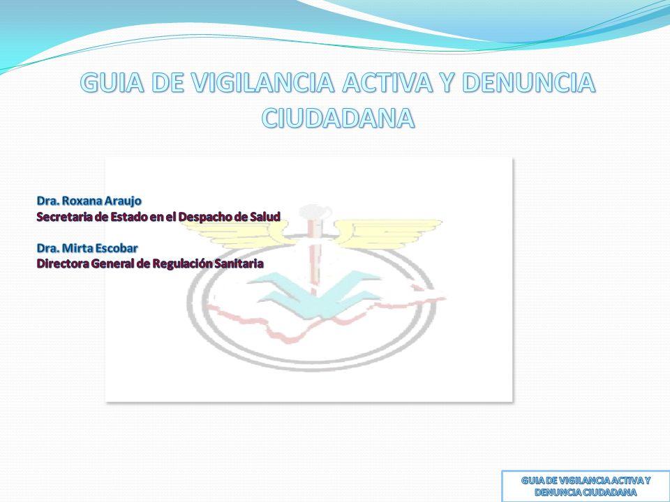 GUIA DE VIGILANCIA ACTIVA Y DENUNCIA CIUDADANA