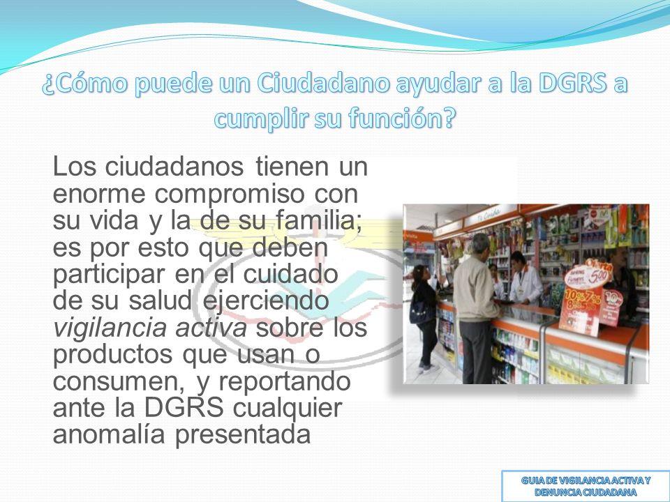 ¿Cómo puede un Ciudadano ayudar a la DGRS a cumplir su función