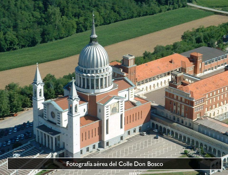 Fotografía aérea del Colle Don Bosco