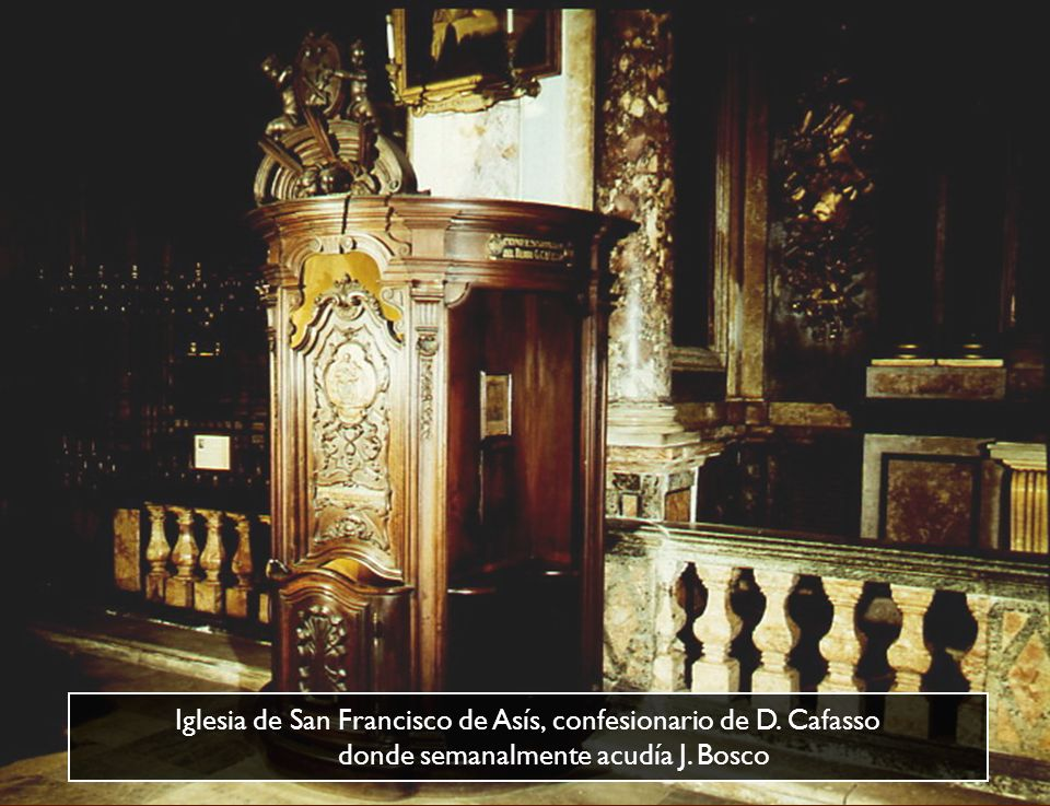 Iglesia de San Francisco de Asís, confesionario de D