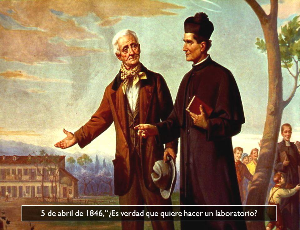 5 de abril de 1846, ¿Es verdad que quiere hacer un laboratorio