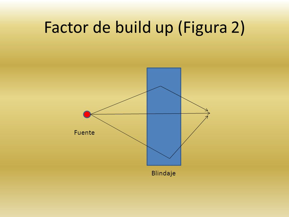 Factor de build up (Figura 2)