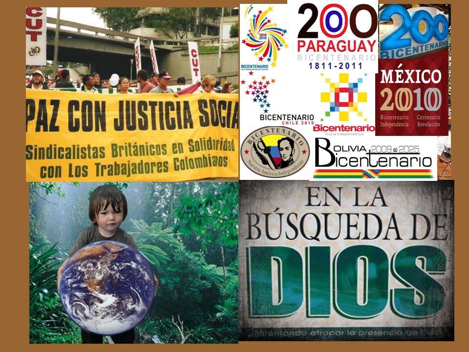 NUEVOS ESCENARIOS La sensibilización por la paz con justicia social