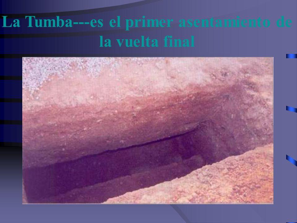 La Tumba---es el primer asentamiento de la vuelta final