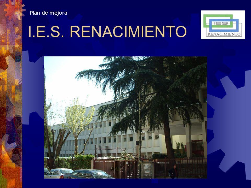 Plan de mejora I.E.S. RENACIMIENTO