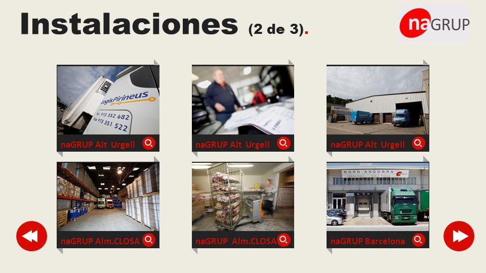 Instalaciones (2 de 3). naGRUP Alt Urgell naGRUP Alt Urgell
